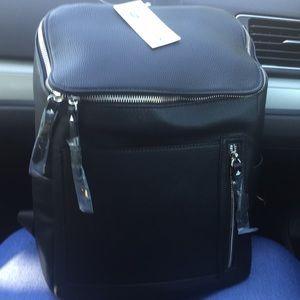 Clark's leather book bag